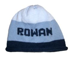 Rugby Striped Name Hat
