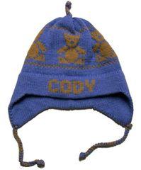 Personalized Teddy Bear Earflap Hat