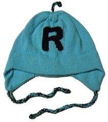 Personalized Letter Earflap Hat