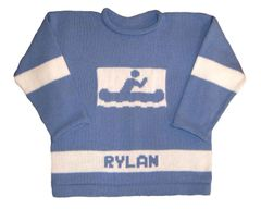 Personalized Canoe Pullover for Children