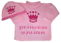 Our Little Princess Personalized Layette Set