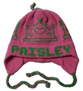 Personalized Crown Earflap Hat