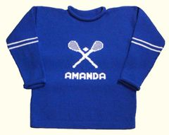 Lacrosse Sports Jersey Personalized for Infants and Children