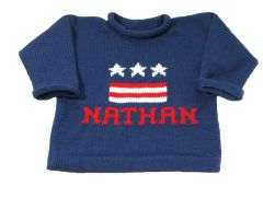 USA Personalized Graphic Pullover
