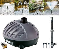 Garden Fish Pond Pump 1000ltr ECO Fountain Waterfall Submersible Outdoor
