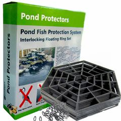 Pond Protector Floating Cover Net Water Fish Guard Grid Cats Heron