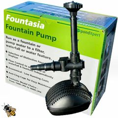 Garden Fish Pond Pump 2000 ltr PondXpert Fountain Waterfall Submersible
