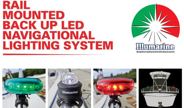Illumarine Rail Mounted Navigational Lighting System