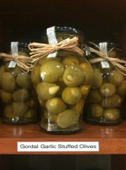 Gordal Garlic Stuffed Olives (20oz)