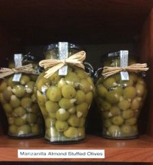 Manzanilla Almond Stuffed Olives (20oz)