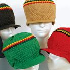 XL RASTA FESTIVAL CROWN CAPS