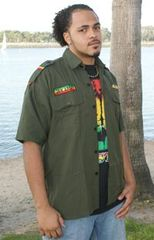 REGGAE ALL STAR RASTA SHIRTS