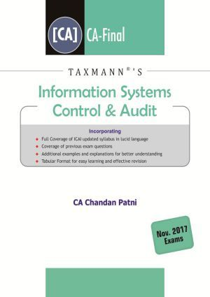 Paper 6 - Information System Control & Audit (CA Final Group II Old  Syllabus) by CA Chandan Patni