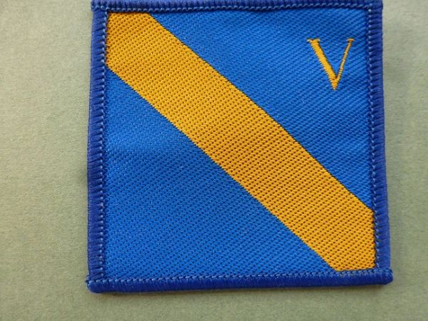 5 Division, UK (blue, yellow)