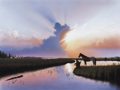 """Evening Reflection"" - 32x22 Limited Edition Print"