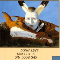 """""""Scout Eyes"""" - 12x14 Limited Edition Print"""