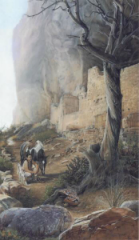 """The Upper Ruins"" - by Julie Kramer Cole, Limited Edition Print"