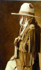 """Buckskin Blonde"" 30x20 Limited Edition Print"