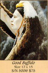"""Good Buffalo"" - 12x15 Limited Edition Print"