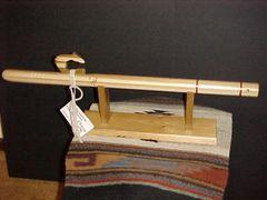 Poplar Wood, Pipestone Inlay Key F