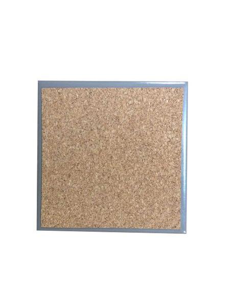 Adhesive Coaster Cork Sheet - 95mm x 95mm - 1mm Thick - 100 Sheets
