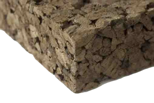 Insulation Cork Board 1000 mm x 500 mm - 30 mm Thick - 2 Sheets - 1m2