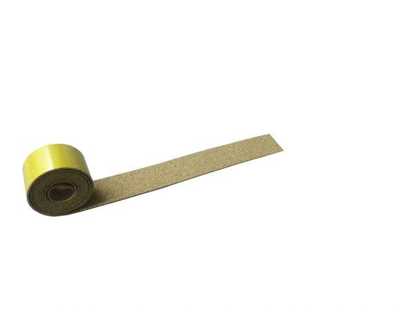 Adhesive Cork Track Underlay - 50mm x 6 Meter - 2mm thick