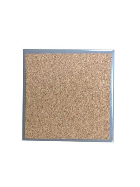 Adhesive Coaster Cork Sheet - 100mm x 100mm - 1mm Thick - 100 Sheets