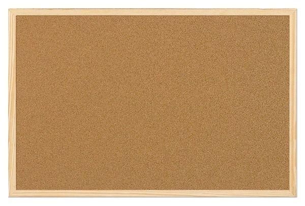 Framed Cork Notice Board - 1200mm x 900mm