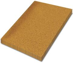 Adhesive Cork Sheet - 915 mm x 610 mm - Various Thicknesses - Pack of 2