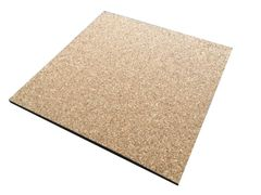 Adhesive Cork Sheet - 300mm x 300mm - Various Thicknesses - Pack of 6