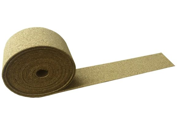 Cork Roll - 10 Meter x 250mm - Various Thicknesses