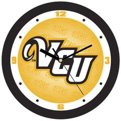 VCU Dimension Wall Clock - Yellow
