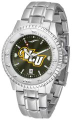 VCU Men's Stainless Steel Competitor Silver-tone AnoChrome