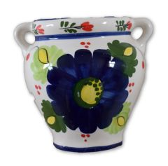 Hand painted Spanish wall planter (ref 210/FA)