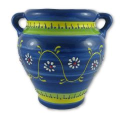 Hand painted Spanish wall planter (ref 210/ARC)