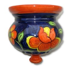 Hand painted Spanish wall planter (ref 527/CAM)