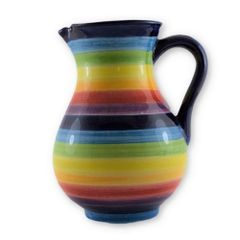 Hand painted Spanish Sangria Jug (Arcoiris)