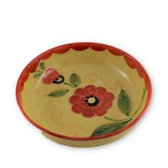 Hand painted Spanish Salad Bowl (Amapola Flor)