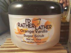 Orange Vanilla Sugar Scrub