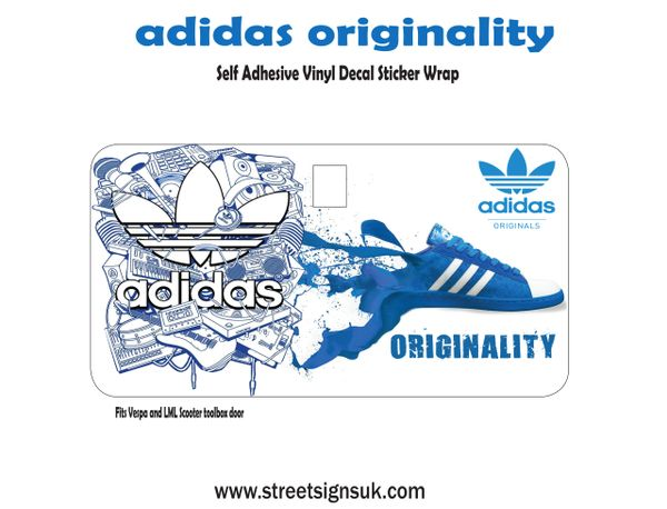 adidas originality self adhesive print and cut self adhesive vinyl decal sticker
