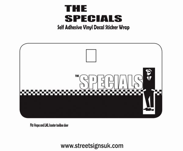 THE SPECIALS self adhesive print and cut self adhesive vinyl decal sticker