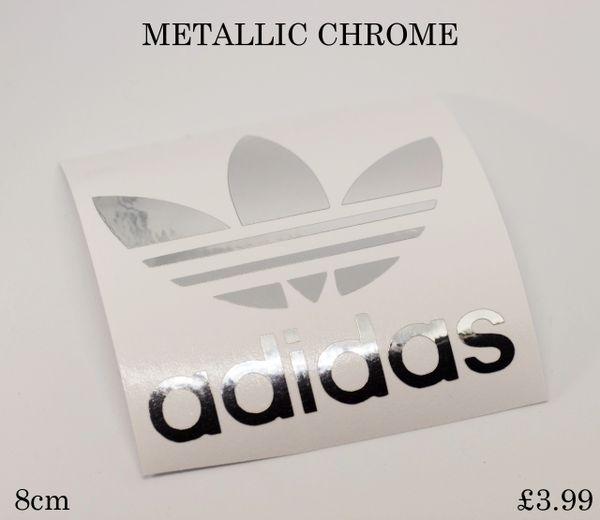 adidas logo die cut self adhesive vinyl decal,sticker,graphics