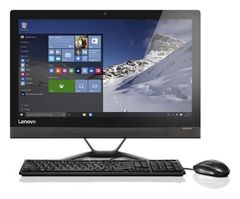 "Lenovo ThinkCentre V510z 23"" FHD Non-Touch Intel® Core™ i7-7700T Processor (8M Cache, 2.9 GHz) 8GB DDR4 1TB 5400 RPM Intel® Integrated Graphics DOS DVD+/-RW Drive Wifi + BT (1X1 AC) Monitor Stand 1 Year 10NQ001TAX"