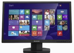 """Lenovo ThinkVision LT2423 24"""" Wide WLED 1920x1080 VGA+HDMI Cables Included VGA+ Audio Tilt 3 years 60A8KAT2UK"""