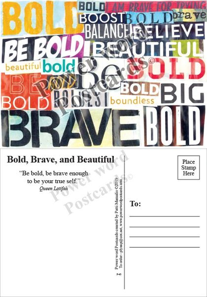 Bold, Brave, and Beautiful