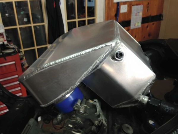08-17 Suzuki Hayabusa Water/Air Intercooled Plenum