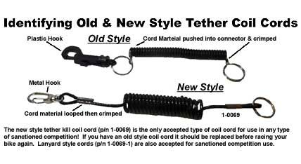 MPS Tether Kill Coil Cord Only