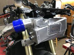 06-17 Kawasaki Turbo ZX14 & ZX14R Co2 Front Mount Intercooler