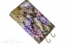 Lilac Painting Wall Key Holder